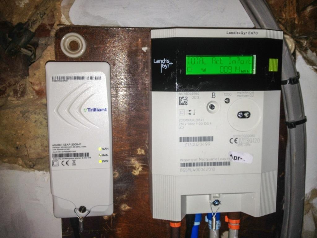 British Gas Smart Meters Part 1 Data Point